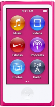Apple iPod nano pink 16GB 8.